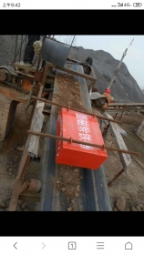 悬挂式除铁器应用现场