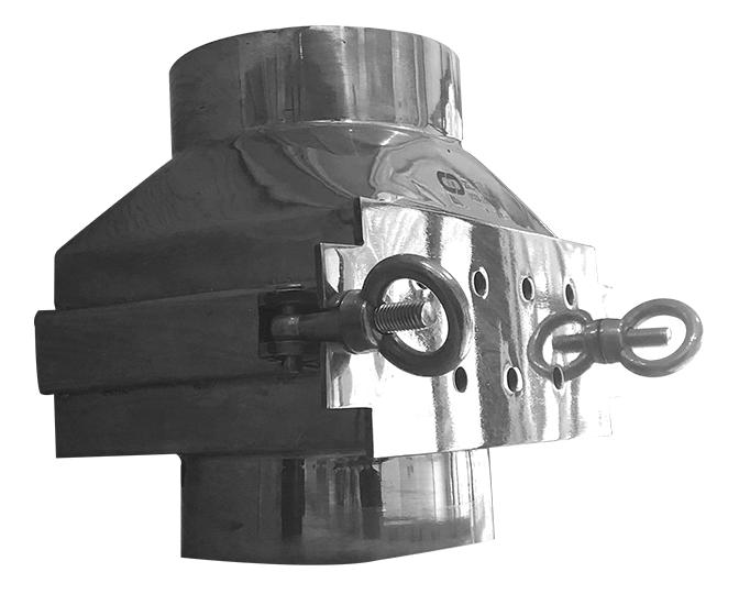 管道式永磁除铁器