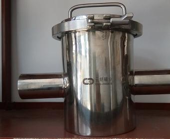 管道式粉料除铁器