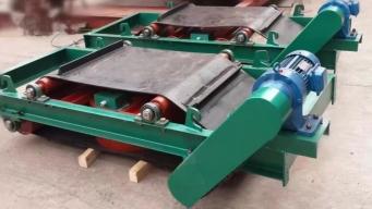 RCYK系列铠装永磁带式除铁器